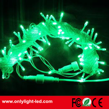 made in china 10M 100led green led christmas string light for christmas decorating