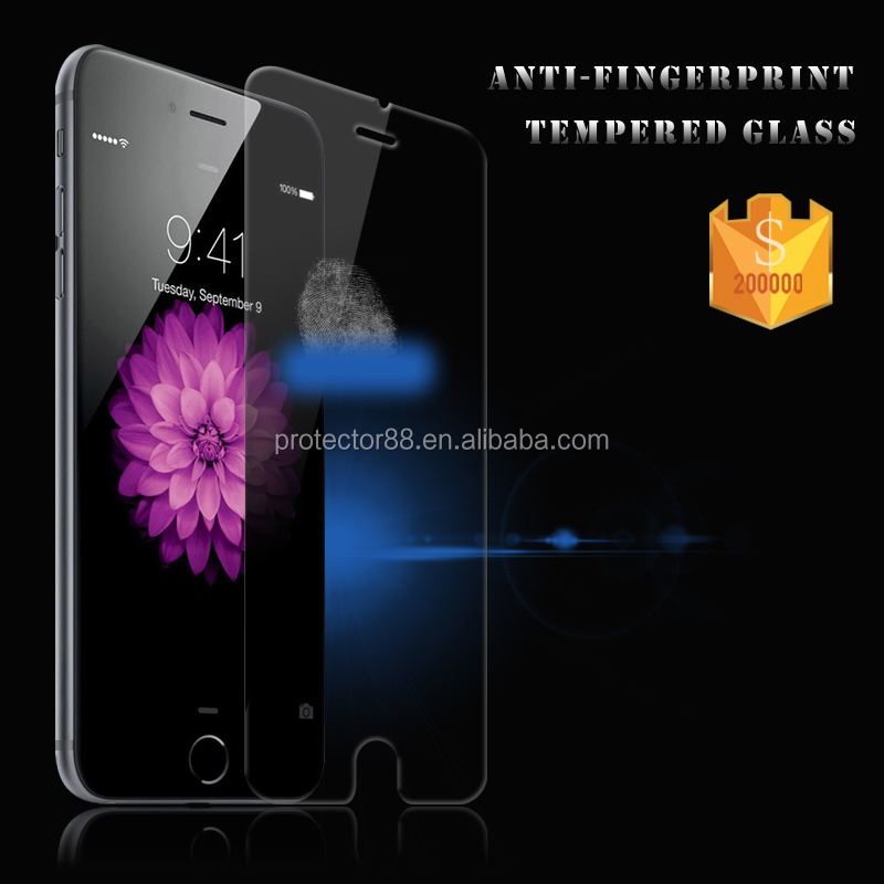 Maunfacturer Price Japanese Blue Film 0.33MM 2.5D Tempered Glass Screen Protectors for I 6/ 6S