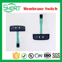 Smart bes Custom Microcomputer controller button membrane switch with 3M sticker