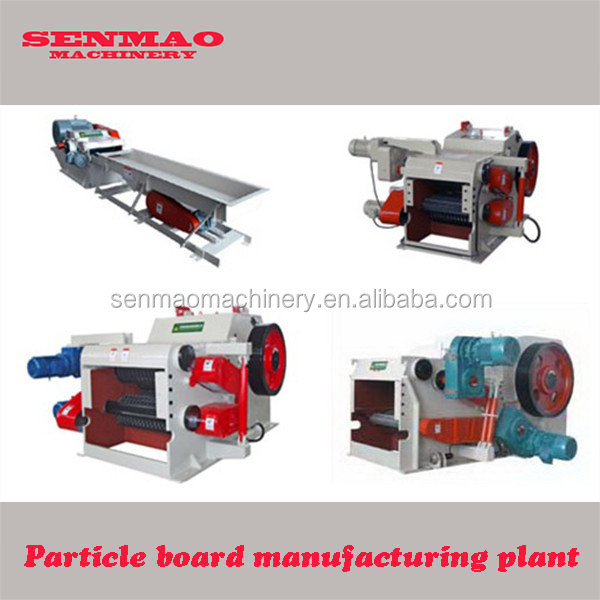 wood log cutter and splitter/wood grinder machine/chipboard plant machine