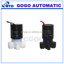 "2 way, N.C with water and liquid port size G1/4"" plastic solenoid Valve"