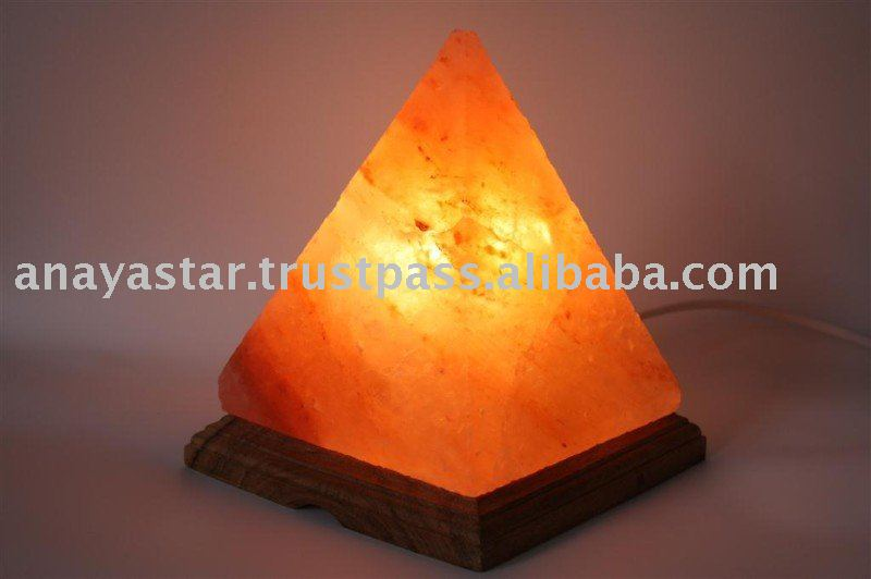 Pyramid Salt Lamps/Himalaya Salt Lamps/Rock Salt Handicrafts/Home Decoration