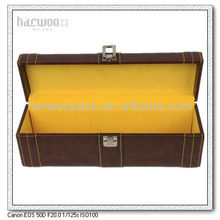 PU Wine Box Custom Leather Wine Bag