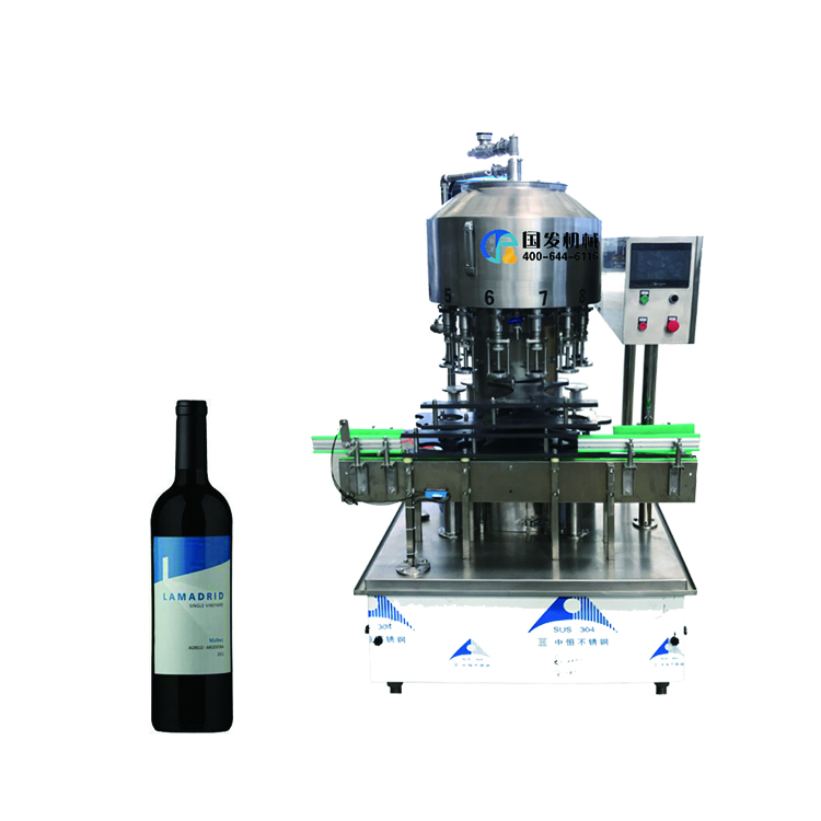 High quality pneumatic <strong>fruit</strong> wine bottle filling machine