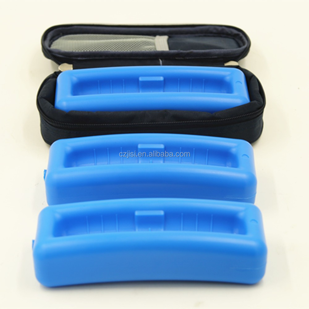 Wholesale portable package medicine insulin ice pack cooler bag