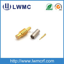 MCX type male plug crimp RG316 RG174 cable RF connector
