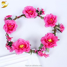 Beautiful fresh handmade wedding flower garland 58132