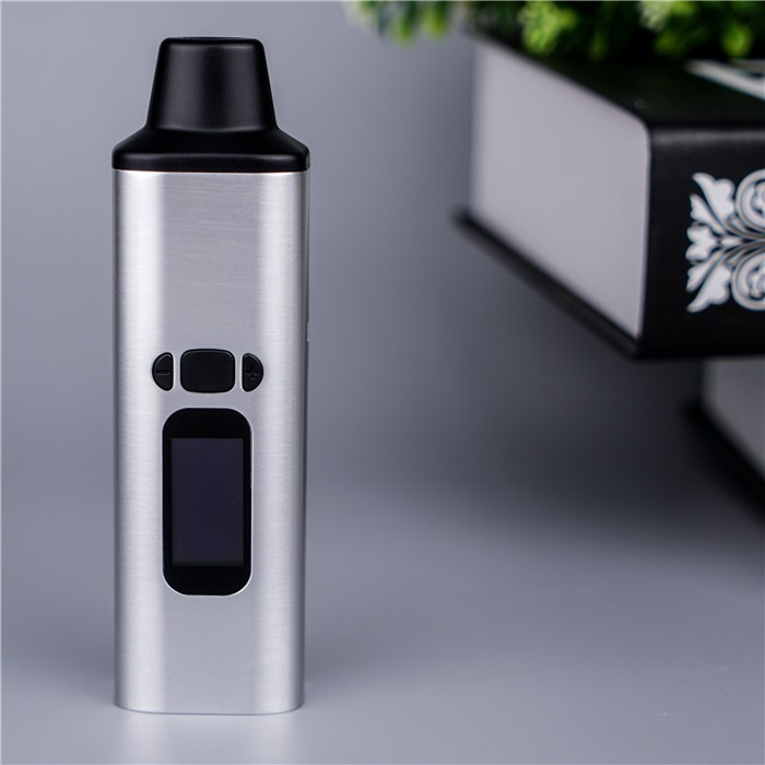 2017 new arriving digital dry herb vaporizer with 0.96 inch Oled display herbal vaporizer wholesale