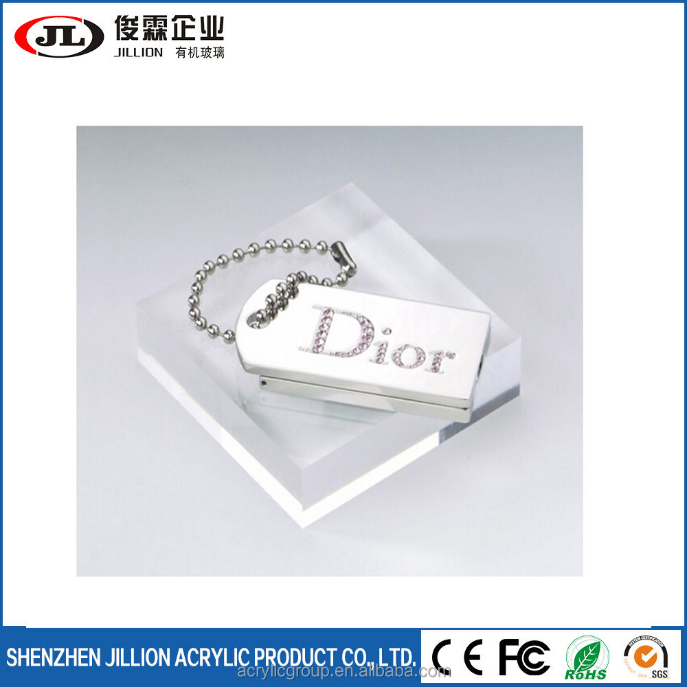 Custom Size Clear Acrylic Glass Solid Block