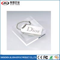 Custom Size Clear Acrylic Glass Solid Block