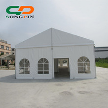 swimming pool cover marquee tents with white removable walls