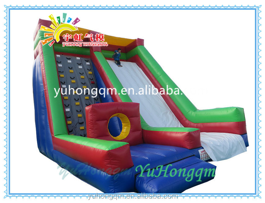 Guangzhou Yuhong factory inflatable jumping bouncer slide, new design inflatable for sale