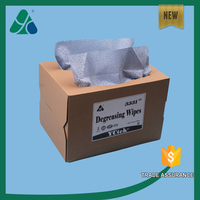 70gsm Blue/white Melt blown Degreasing Cleaning PP Nonwoven Wipe