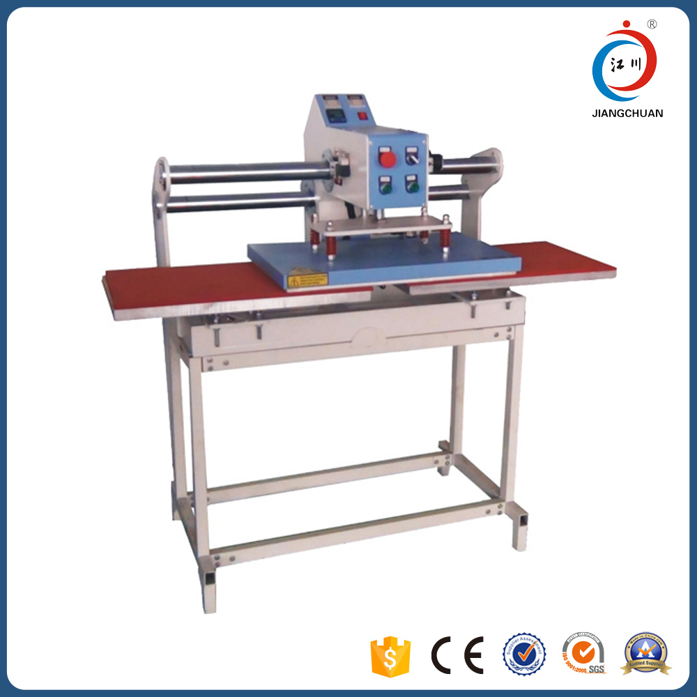 Automatic cheap used t shirt heat press machine