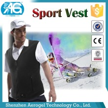2018 innovative Rechargeable Battery Aerogel heated vest