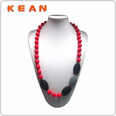 Silicone Teether BPA Free NoN-toxic New Style Beautiful Necklaces For Girlfriend