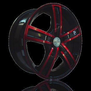 Toyo Car Velg 412 Black Red