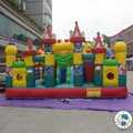 HOLA kids popular inflatable amusement park/inflatable playground