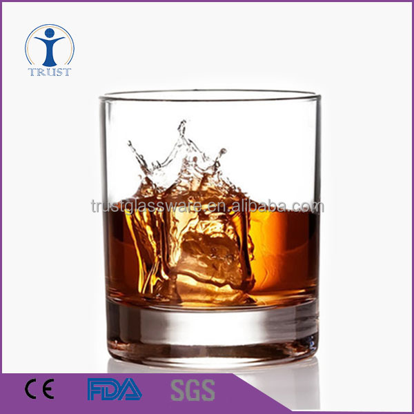China Factory Wholesale High Quality Leed Free 300ml Crystal Whiskey Glass