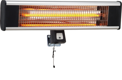 Scientec AH18CW Carbon Fibre Wall Mounting Patio Heater