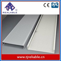 Aluminum Perforated Ceiling Panel/ Aluminum Strip Linear Ceiling Boards