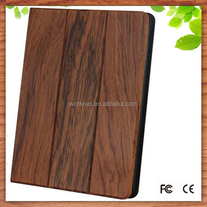2016 new arrival full wood for iPad Pro tab bag 12.9 inch case, top quality full wood leather case for iPad Pro bag