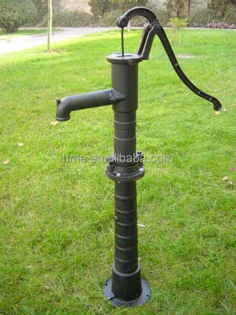 Garden well cast iron antique hand water pump buy for Garden water pump