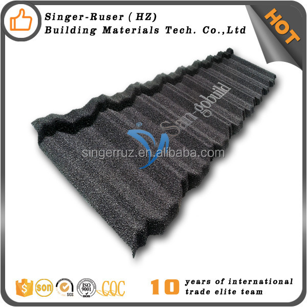 14 color metal roofing with color stone chips coated decorative metal roofs Al-Zn Alloy Coated Steel Sheet