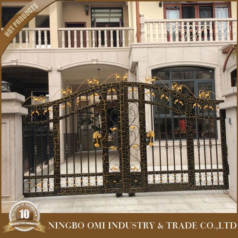 China products used fence panels, aluminum gate designs/modern indian house main gate designs/Good quality aluminium alloy swing