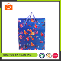 Colorful pp woven shopping bag