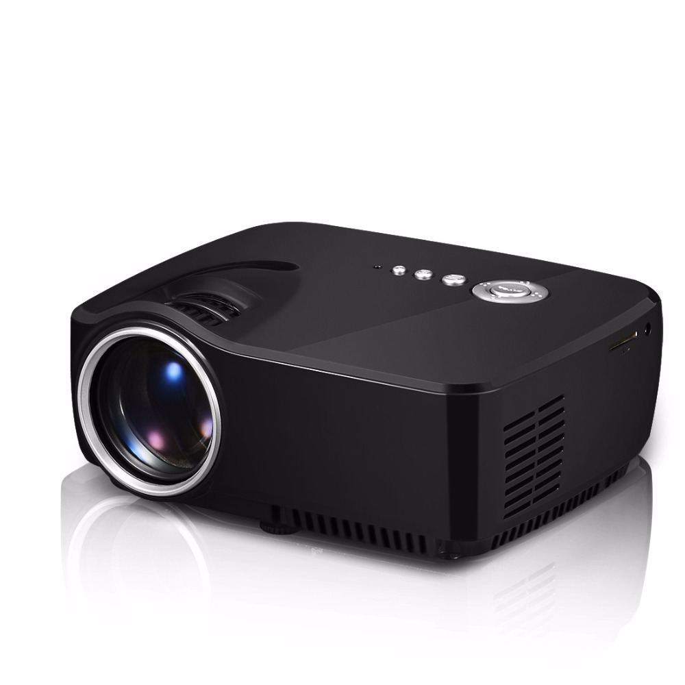 G20 ProjectorChristmas projector2016 GP70 newest highquality mini portable home projector with built-in HDTV tuner projector USA