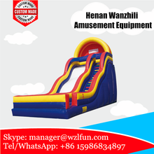 2016 sunjoy hot sale new design high quality gaint Inflatable Slide in amusement park