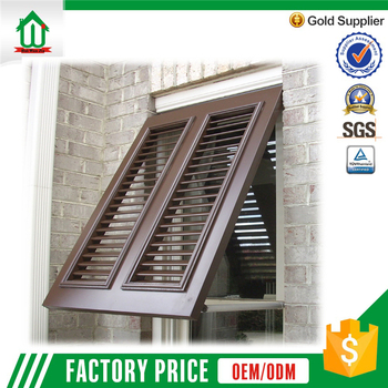 European style good price aluminum window shutters