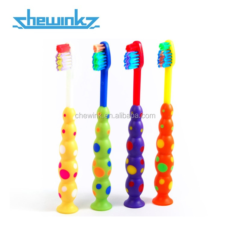 Big-ball Suction Cup Toothbrush