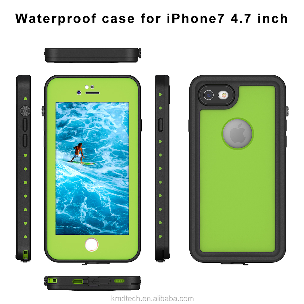 Clear Sound TPU+PC Waterproof Shockproof Dustproof Snowproof Phone Case for iPhone 7