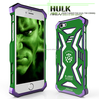 Strong hulk aluminum case for iphone 6