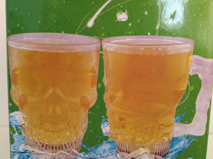 Christmas promotional plastic flashing led beer cup