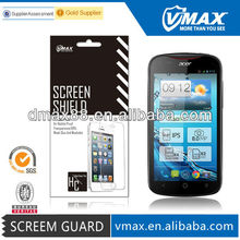 Lcd screen protection film for Acer liquid e2 oem/odm(Anti-Fingerprint)