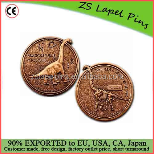 Custom high quality Geocaching engraved tracking codes geo coin