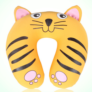2017 Hot Product Cute Cartoon Pattern Customized Good Rest Microbeads Travel Neck Pillow 007