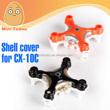 Minitudou RC Helicopter Spare Parts Hexacopter Frame For CX-10C Quadcopter Pocket Drone