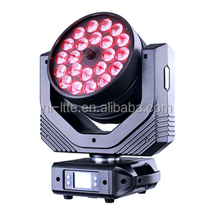 New Lights 22*15w led zoom wash rgbw 4in1 moving head light