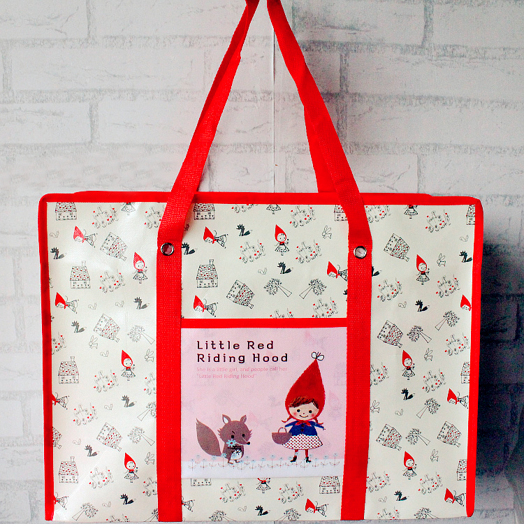 Reusable waterproof grocery shopping pp bag