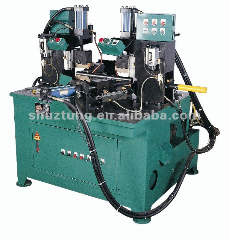 Pipe Double End Notching Machine