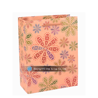Valentine paper bag for decoratIve store christmas paper gift bag