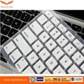 cover for mini bluetooth silicone rubber keyboard, rubber keyboard cover
