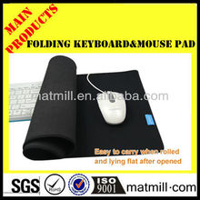 2016 multifunction promotion keyboard with mouse pad