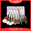 MSQ 15pcs Newly Design Solf Hair Make Up Brushes Cosmetic Brush Set