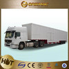 New three axles Low-bed semitrailer 40ft flatbed truck trailer for Burkina Faso , truck trailer used for sale germany