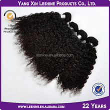 Glamourous Human Virgin Unprocessed Black Color Cheap Wholesale Malaysian Deep Curly Hair